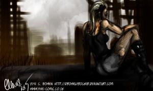 Wasteland Overlook - Cat Bowen