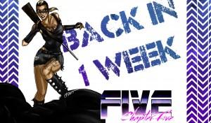 Back in 1 week
